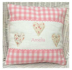 Sweetheart Cushion - baby's room