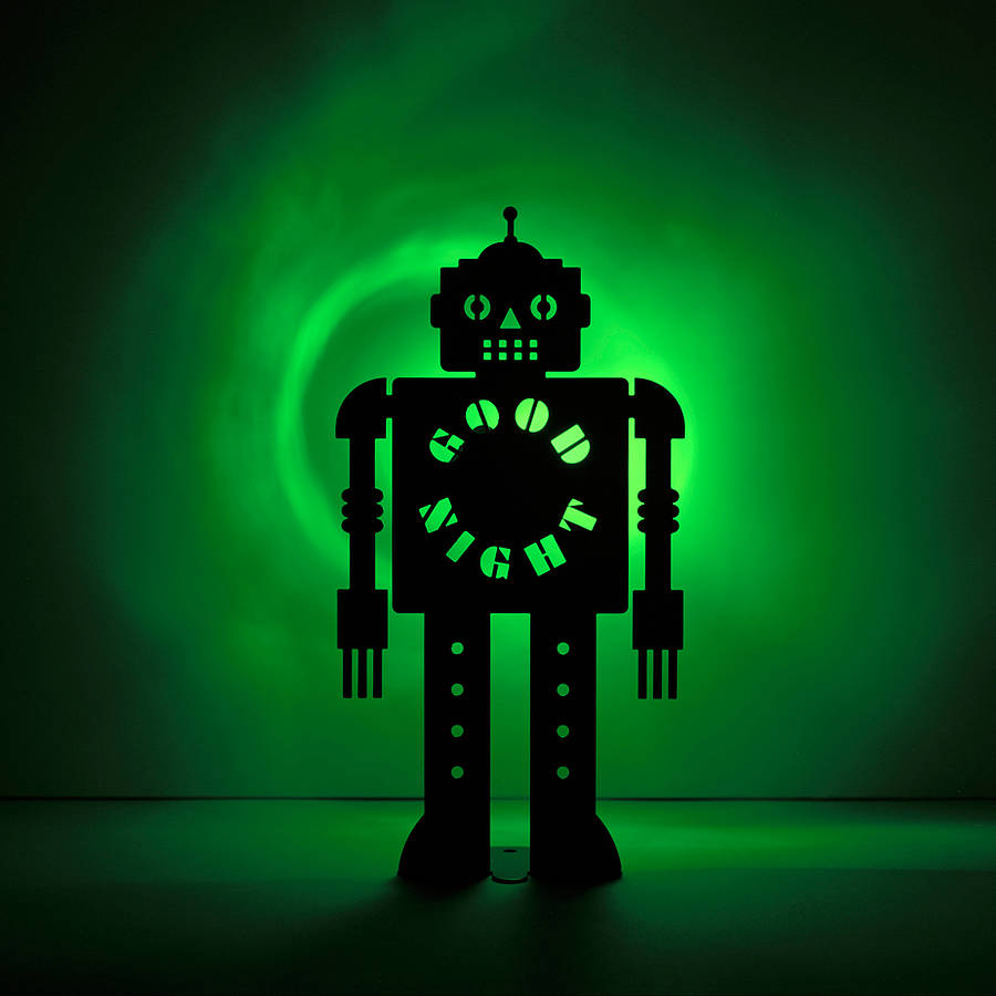 Kid S Robot Nightnight Light By The Original Metal Box