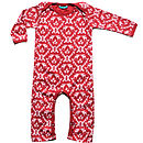 Moose sleepsuit red