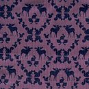 Moose pattern purple
