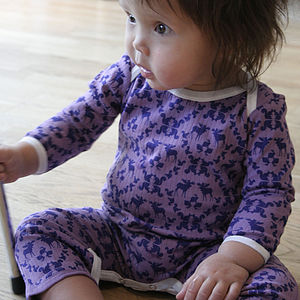 Moose Sleepsuit  - babygrows