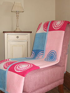 Circle Blanket - throws, blankets & fabric