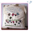 Absolutely blooming lovely cotton bag