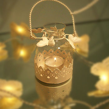 Hanging Butterfly Tea light Holder