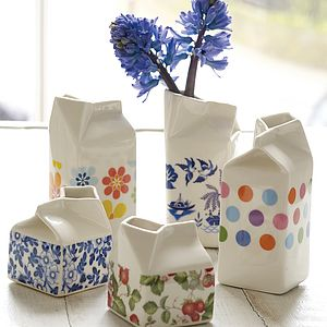 Porcelain Milk Jug - sugar bowls & cream jugs
