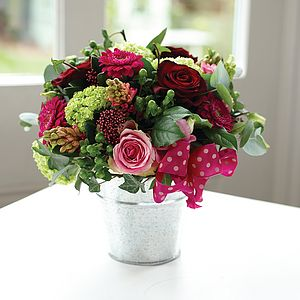 Buckets Of Love - flowers & chocolates with a twist