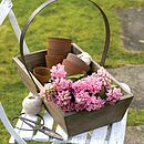 Reclaimed Wood Garden Trug - garden & outdoors