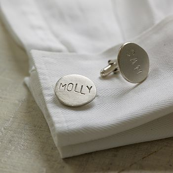 Personalised Name Cufflinks