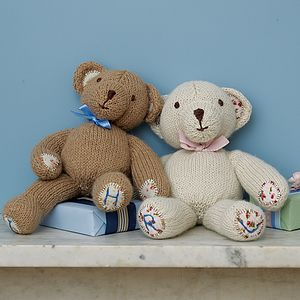 Personalised Teddy Bear - christening gifts