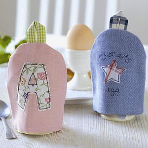 Personalised Egg Cosy Easter Gift - egg cups & cosies