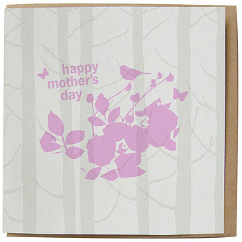 Handprinted card : Mother's Day