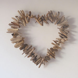 Driftwood Heart - valentine's gifts for her