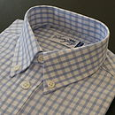 Boy's Sky Blue Check Shirt