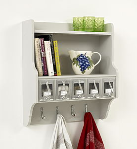 Five Scoop Kitchen Storage Unit - shelves & racks