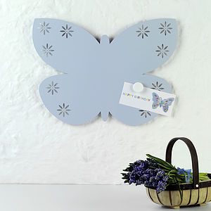 Butterfly Shaped Magnetic Board - noticeboards