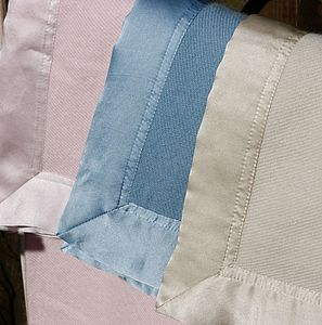 Cashmere Baby Blanket with Silk Edging - baby care