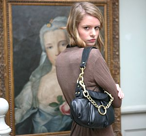 Soft Leather Handbag with Two Straps - bags & purses