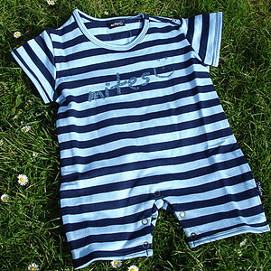 French Terry Play Suit