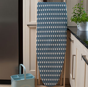 Isabella Blue Ironing Board Cover - ironing