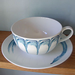 Cappucino Cups And Saucers - kitchen