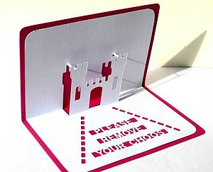 New Home Personalised Pop Up Card - shop by category
