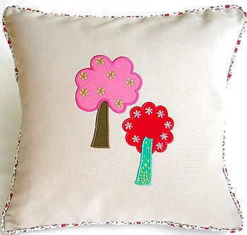 Tree House Cushion