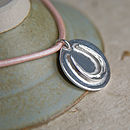 Personalised Solid Silver Horseshoe Bracelet or Necklace