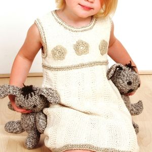 Handmade Organic Cotton Daisy Dress