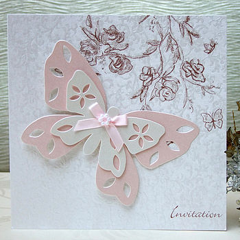 Butterfly Invitation by Cavania