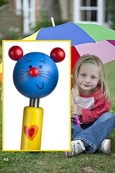 Children's Mouse Rainbow Umbrella