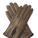 Southcombe Zip Back Glove - BRONZE