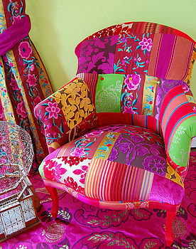 Pushkar Patchwork Chair