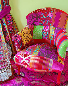 Pushkar Patchwork Chair - furniture delivered for christmas