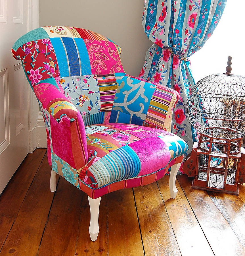 Mandalay Patchwork Chair By Couch Gb Notonthehighstreet Com