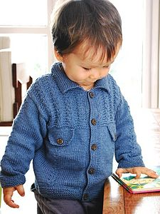 Handmade Organic Cotton Denim Jacket - children's cardigans