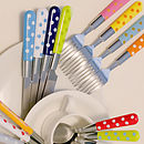 Spotty Eclectic Cutlery Set