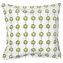 Polly Green Cushion Cover