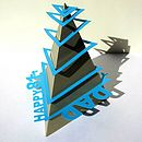 Helter Skelter Pyramid Birthday Card