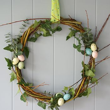 Handmade Scented Easter Wreath