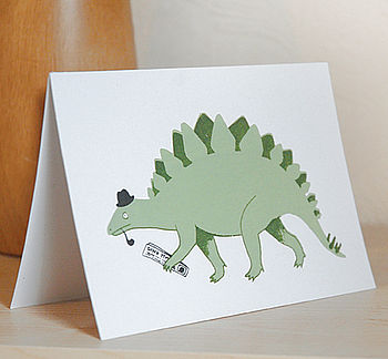 Dandy Dinosaur Card