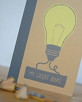 My Great/Rubbish Ideas Notebook
