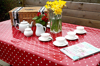 Oilcloth Tablecloth