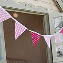 Personalised Girls Name Bunting