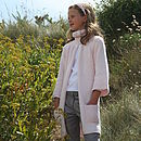 French Design Long Cardigan