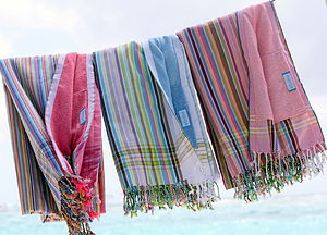 Kikoy Towels - women's