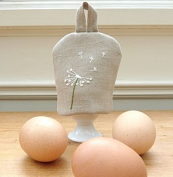 Personalised Egg Cosy Dandelion