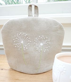 Personalised Tea Cosy   Dandelion