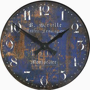 'Fromage' Montpellier Cheesemaker's Wall Clock - clocks