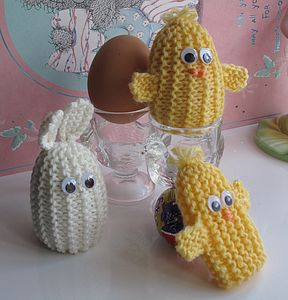 Little Animal Egg Cosy Or Finger Puppet