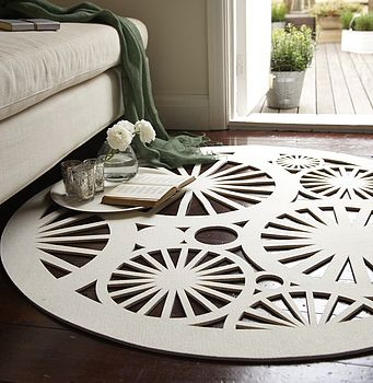 Stella rug in cream